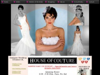 Designer Bridal shop in Essex - HOUSE OF COUTURE