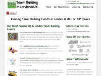 Teambuildinglondon.co.uk