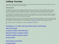 Callingtouches.co.uk