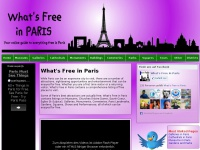 whatsfreeinparis.com