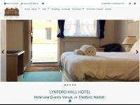 Lynfordhallhotel.co.uk