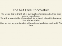 Thenutfreechocolatier.co.uk