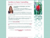 Carolinelesueur-counselling.co.uk