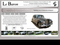 lebaronweddingcars.co.uk