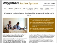 gryphonauctionsystems.co.uk