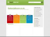 Thatsocialboom.co.uk