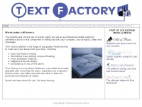 Textfactory.co.uk