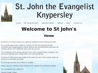 St-johns-knypersley.org.uk
