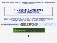 cannellmemorials.co.uk Thumbnail