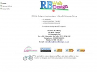 RB Web Design - Home Page