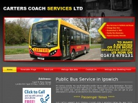 carterscoachservices.co.uk