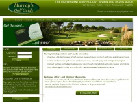 Murray's Golf Guide & Golf Break Offers - Independent golf holiday guide and golf course reviews