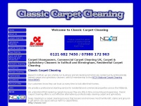 Classiccarpetcleaners.co.uk
