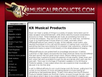 krmusicalproducts.com