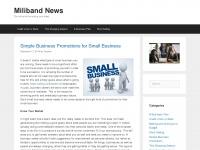 David Miliband - Official website