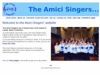 theamicisingers.co.uk
