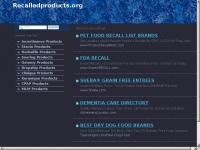 recalledproducts.org