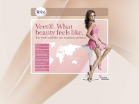 Veet®. The worlds number 1 depilatory products