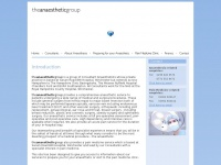 Theanaestheticgroup.co.uk