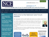 nationalcareforum.org.uk Thumbnail