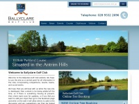 Northern Irelands Premier Parkland Golf Course - Ballyclare Golf Club