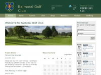 Home | Balmoral Golf Club