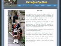 warringtonpipeband.co.uk