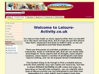 leisure-activity.co.uk