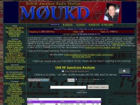 M0UKD Amateur Radio Station Information Page | Amateur Radio website of John, M0UKD. Contains information, pictures, circuits and projects.