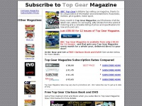 Top Gear Magazine - Subscribe to the Cheapest Top Gear Car Magazine Subscription Prices