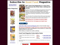 Good Food Magazine - Subscribe to the Cheapest BBC Good Food Magazine Subscription Prices