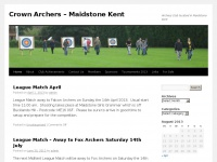 Crown Archers – Maidstone Kent | Archery Club located in Maidstone Kent