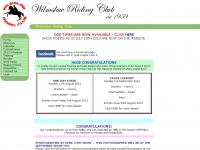 wilmslowridingclub.co.uk