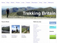 Walks in Lake District, Peak District, Snowdonia, Scotland's Highlands and other UK areas