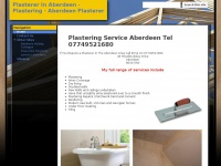 Plastererinaberdeen.co.uk