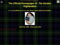 Thegordonhighlanders.co.uk