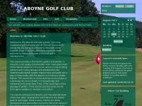 Aboynegolfclub.co.uk