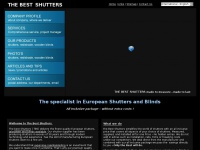 The Best Shutters - European Shutters and Blinds