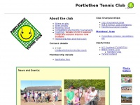 portlethentennisclub.org.uk