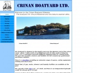 Crinanboatyard.co.uk