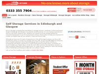 Self Storage Edinburgh, Glasgow | Len Lothian