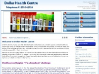 dollarhealthcentre.org.uk