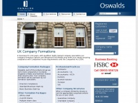Company formations, Company secretarial and Corporate legal services - Oswalds