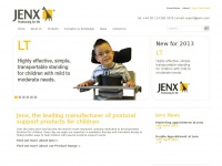 Jenx.com - Home | Jenx, the leading manufacturer of postural support products for children