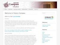 History Compass | Peer-reviewed survey articles from across the discipline