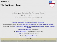 lectionarypage.net
