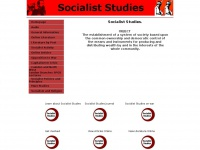 socialiststudies.org.uk Thumbnail