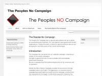 Thepeoplesnocampaign.co.uk
