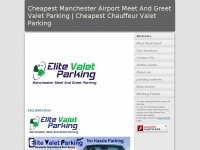 Cheapest Manchester Airport Meet And Greet Valet Parking | Cheapest Chauffeur Valet Parking