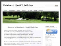 whitchurchcardiffgolfclub.com